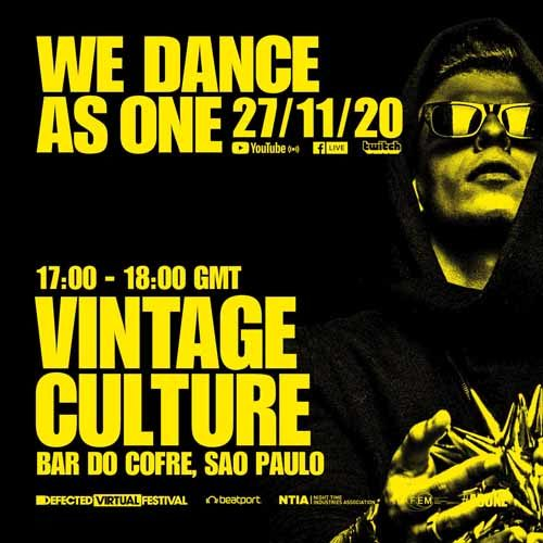 Vintage Culture – We Dance As One 2.0