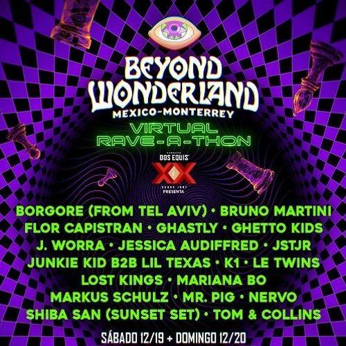 Markus Schulz – Beyond Wonderland Monterrey Virtual Rave-A-Thon