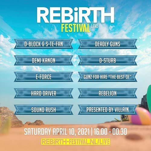Sound Rush – REBiRTH Festival 2021