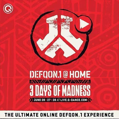 Audiotricz – Defqon.1 at Home – UV