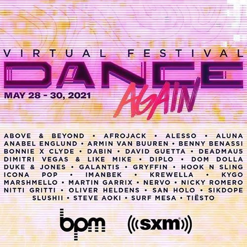 Tiesto – SiriusXM Dance Again Virtual Festival