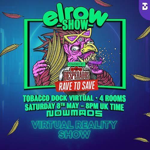 Jaguar – elrow at Tobacco Dock Virtual