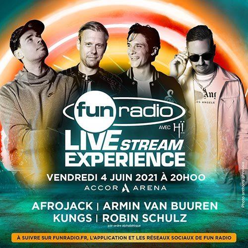 Robin Schulz – Fun Radio Livestream Experience, AccorHotels Arena Paris 2021-06-04