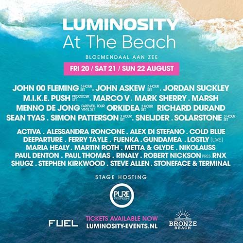 Cold Blue @ Luminosity At The Beach 2021