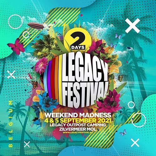 Ton TB @ Legacy Festival 2021 Belgium