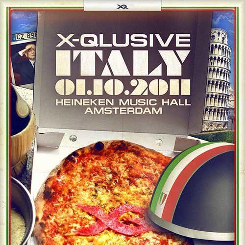 Ivan Carsten @ X-Qlusive Italy (HMH – Amsterdam) 01-10-2011