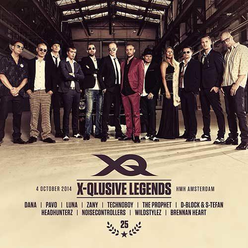 D-Block & S-te-fan @ X-Qlusive Legends (HMH – Amsterdam) 04-10-2014
