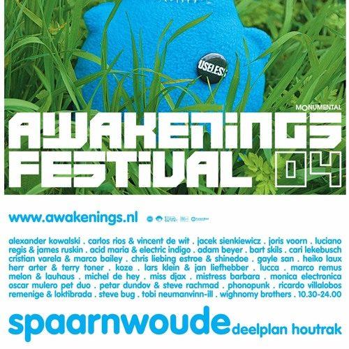 Marco Bailey & Cristian Varela @ Awakenings Festival 03-07-2004 part 1