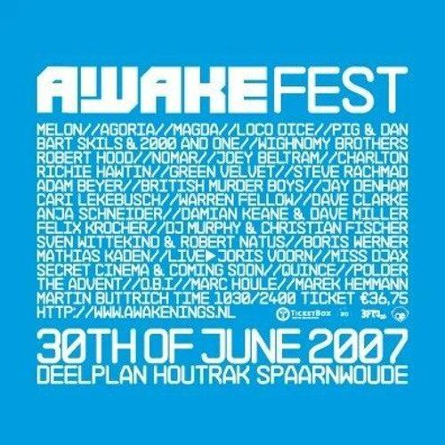 Mathias Kaden @ Awakenings Festival (Spaarnwoude – Amsterdam) 30-06-2007