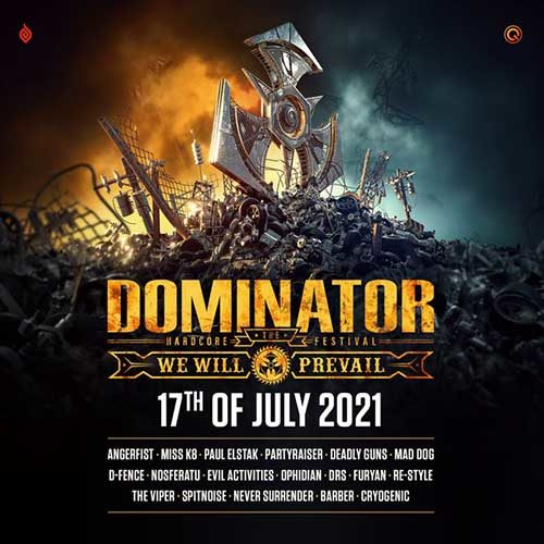 Miss K8 @ Dominator Festival – We Will Prevail 2021 – The Spectacle
